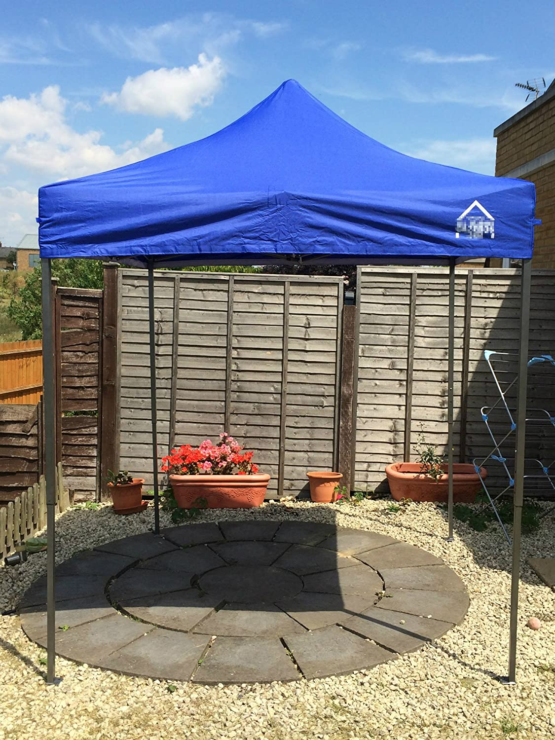 All Seasons Gazebos de 2 x 2 m Resistente, Totalmente Impermeable ...