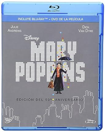 Mary Poppins (Edicion del 50 Aniversario) (Region 1 / 4 DVD + Blu