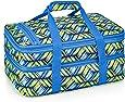 Double Casserole Travel Bag (Geo Weave)