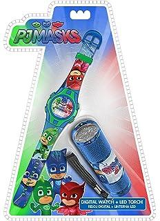 Kids PJMasks Set Reloj y Linterna PJ Masks (PJ17022)