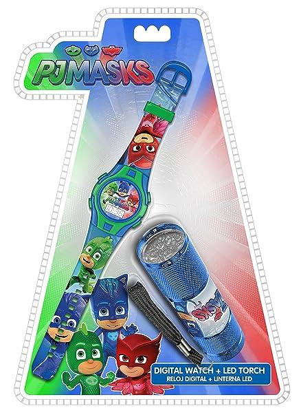 Kids PJMasks Set Reloj y Linterna PJ Masks PJ17022