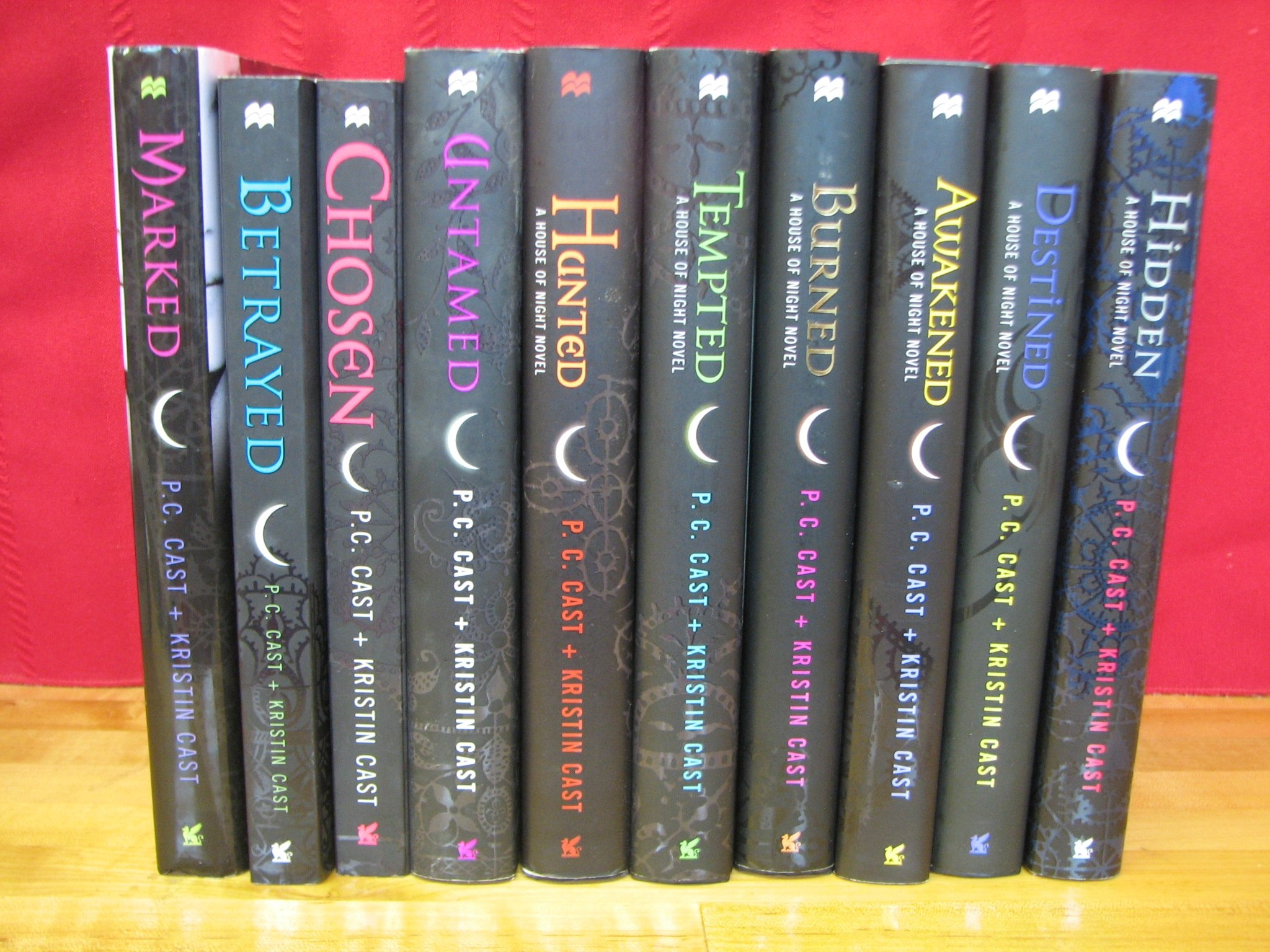 House of Night Series Complete Set, 10 Book Collection, Volumes 1 ...