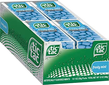 12-Count Tic Tac Fresh Breath Mints (Frosty Mint)