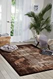 Nourison Karma  Latte Rectangle Area Rug, 3-Feet
