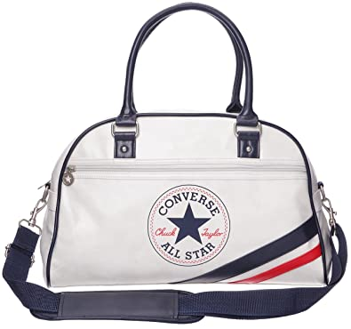 ddfbc9926e Converse Chuck Taylor All Star Retro Bowling Bag, Sac main mixte adulte -  Blanc/