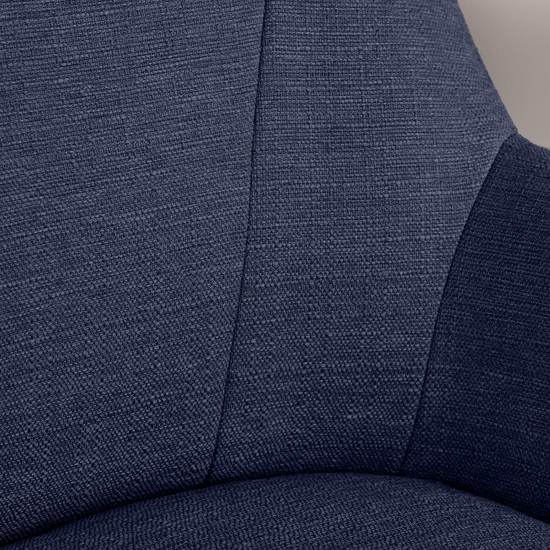 Serta Style Leighton Home Office Chair Sanctuary Blue Twill Fabric
