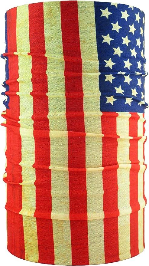 headloop Pañuelo multiuso US Bandera con sangre impresas manchas Manguera Toalla – Pañuelo de microfibra: Amazon.es: Deportes y aire libre