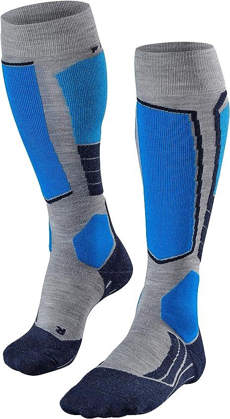 Light Cushioning-warming-20/% Wool Skiing Socks FALKE mens Falke Mens Sk4 Ski Sock