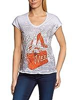 Calvin Klein Jeans Damen T-Shirt CWP92RJDA00
