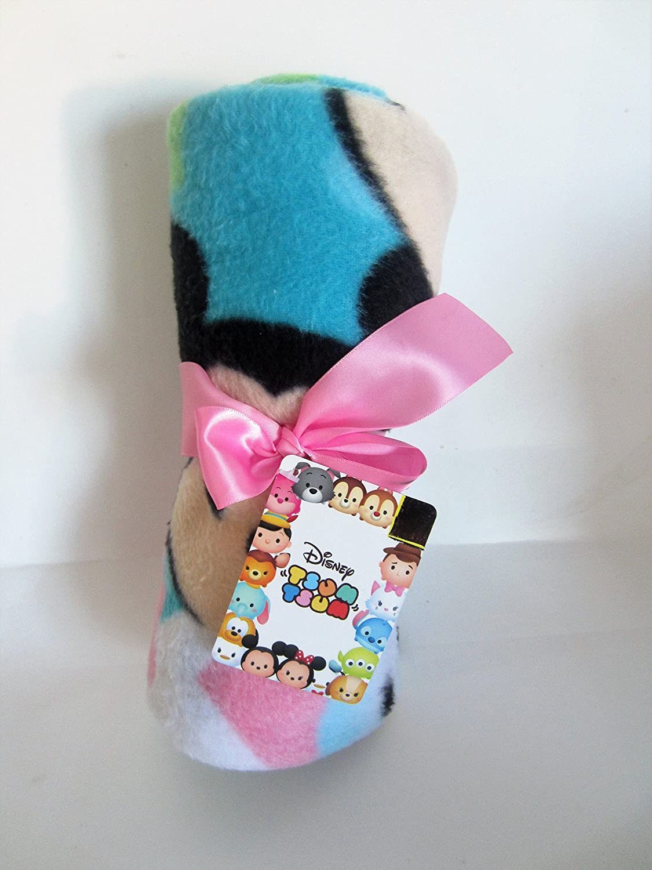 Disney Tsum Tsum Super Soft Travel Blanket 40 in X 50 Assorted Designs Jay Franco & Sons Inc.