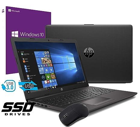 Notebook PC portátil HP 255 G7 pantalla de 15,6 pulgadas Cpu Amd A4 9125 hasta 2,6 GHz /RAM 8 GB ddr4 /HD SSD 240 GB /Vga Radeon R3 /Hdmi grabadora ...