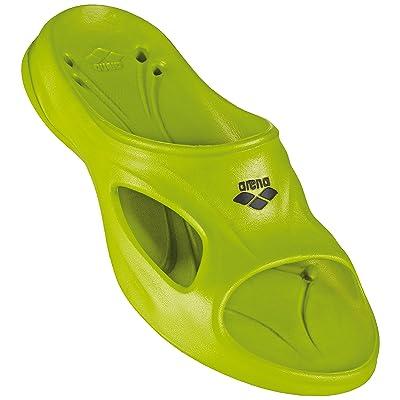 Arena Hydrosoft poolsandale Tap Green Vert - Limegreen/Black Size:41: Sports & Outdoors