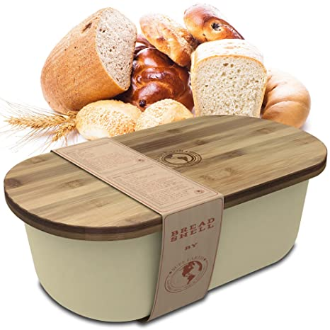 Preferred Amazon.com: Bread Box Storage Basket | Container Bin with Bonus  TO68