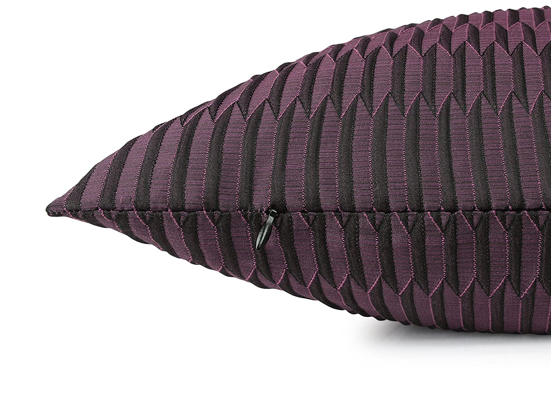 Trend-Collection 2er-Pack Kissenhülle Akira - Kissenbezug Origami Optik 903.1165, 46 46 46 x 46 cm, Beere B06XTS22JP Zierkissenbezüge 299bb0