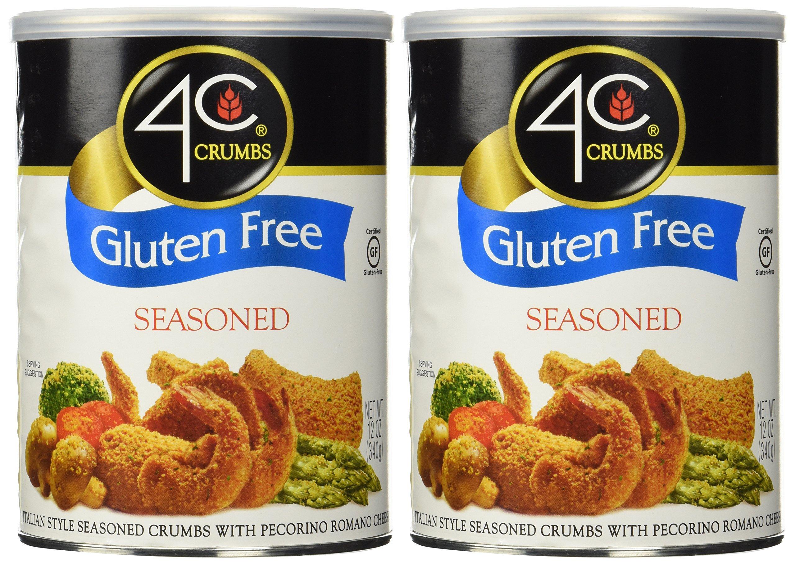 4C Gluten Free Crumbs Seasoned, 12 Ounce (Pack Of 2) by 4C