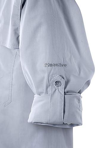 Snowbee Solaris - Camiseta de Manga Larga para Hombre ...