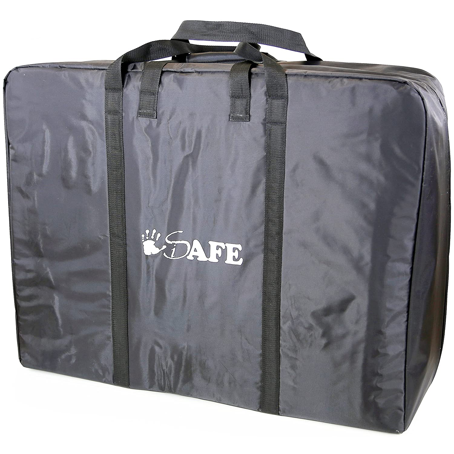iSafe Large Holiday TWIN / INLINE / DOUBLE Travel Bag Luggage Heavy Duty Design For iSafe Me& You Travel Tote iSafeTrvlBagPram
