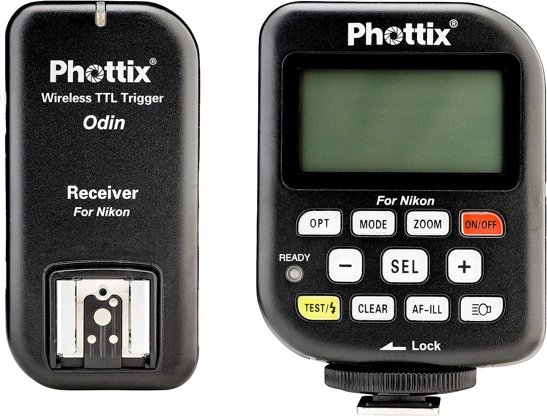 PH89055 Phottix Odin TTL Wireless Flash Trigger Set for Nikon