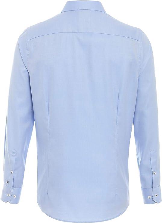PURE 4034-462 City Hemd Black Langarm Camisa de Vestir, Color ...