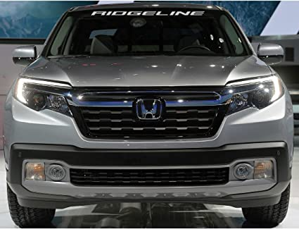 HONDA RIDGELINE WINDSHIELD DECAL (GRAY DEFAULT COLOR