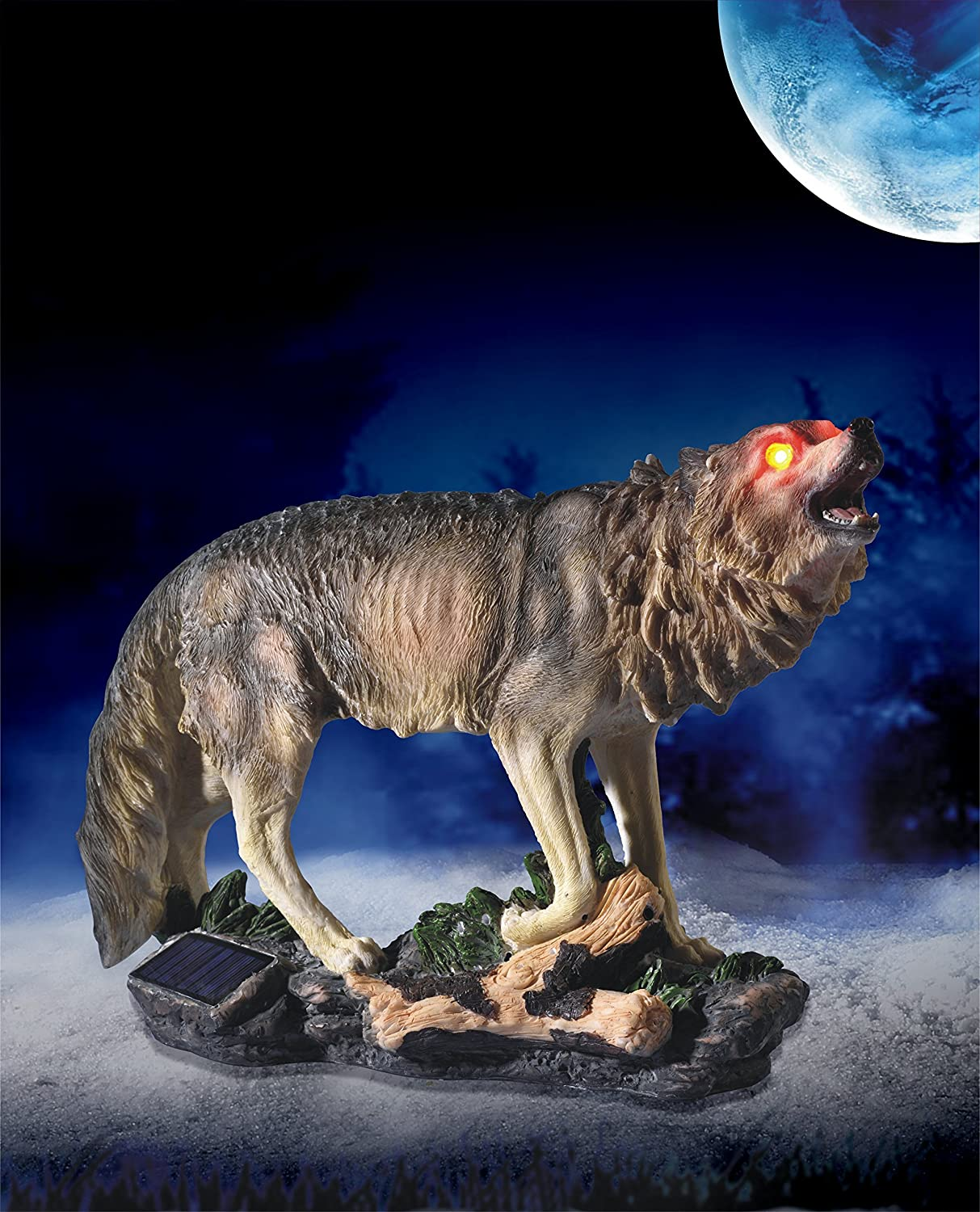 Amazon.com: PPR Marketing Directo 10567 Howling Wolf Solar ...