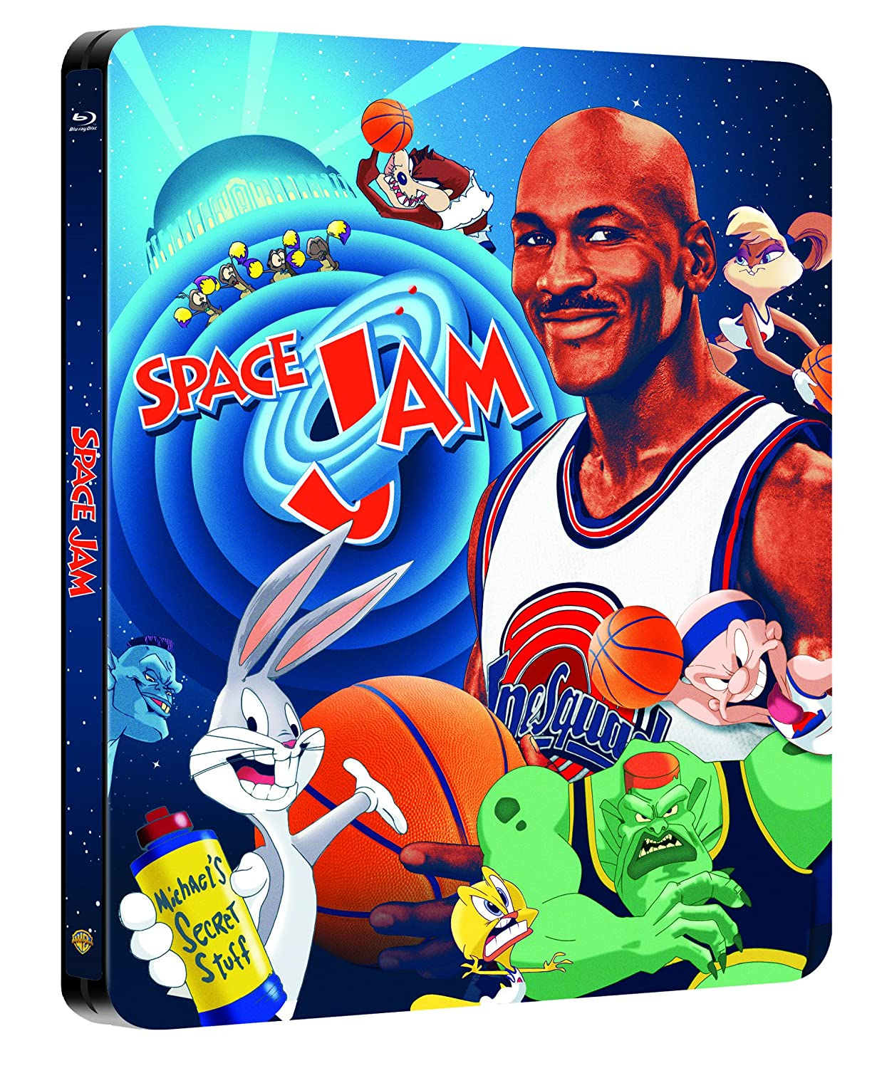 Space Jam Steelbook exklusiv bei Amazon.de Blu-ray Limited Edition ...
