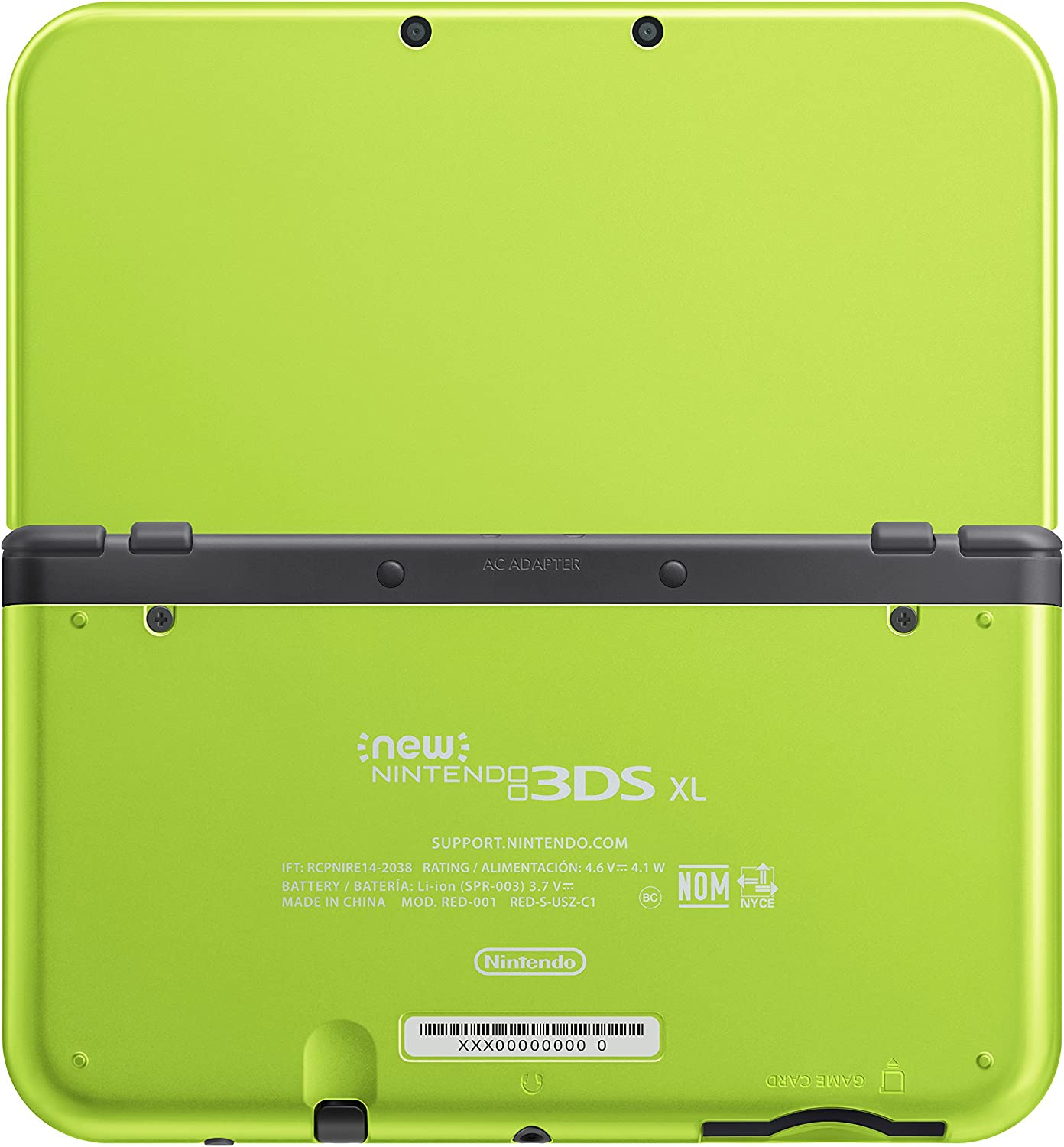 Amazoncom Nintendo New DS XL Special Edition Lime Green - Us zip code nintendo