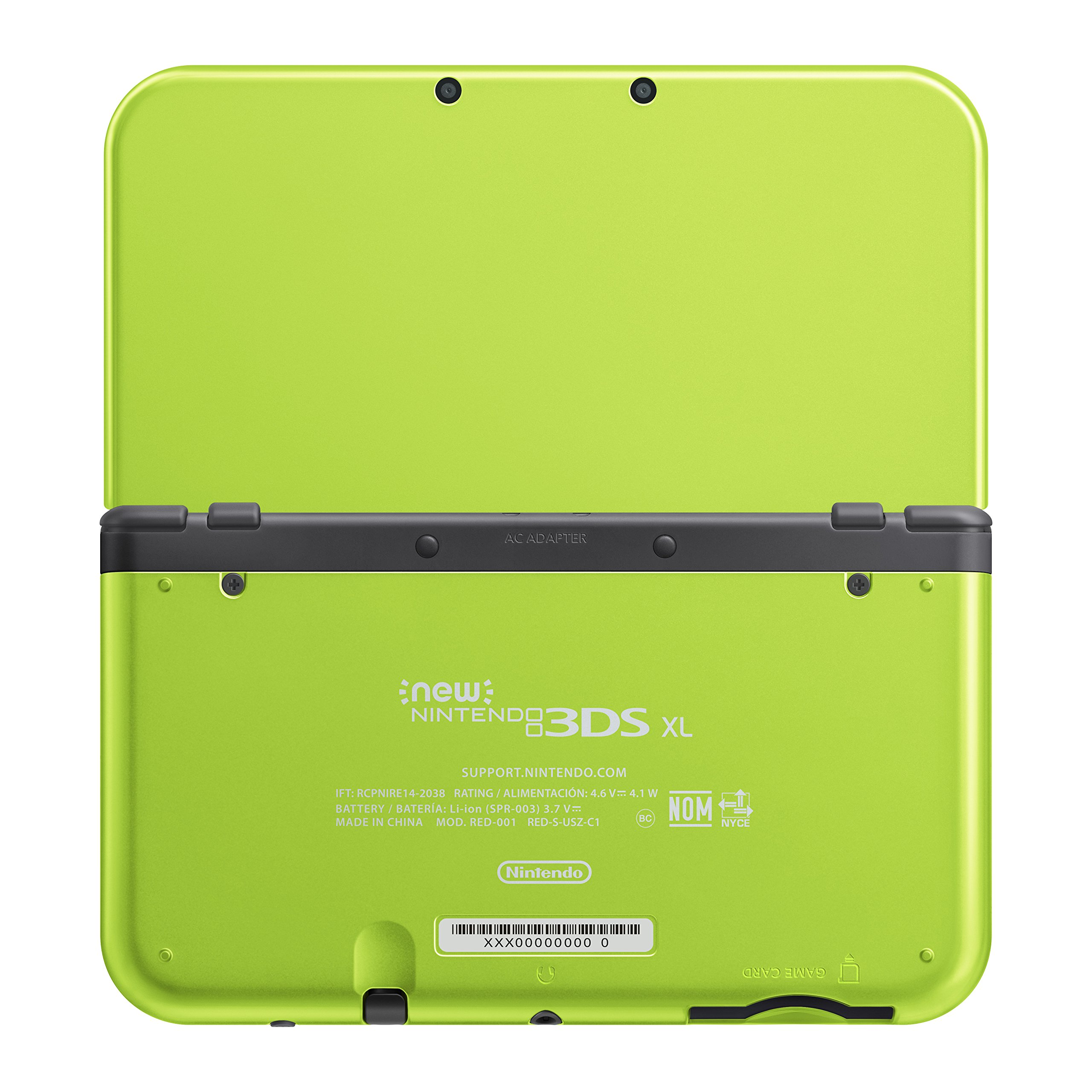 Nintendo New 3DS XL - Lime Green Special Edition [Discontinued] by Nintendo (Image #2)
