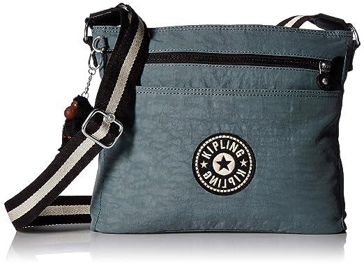 ddee246d48ec Amazon.com  Kipling Shelia Crossbody Bag Bliss Green  Clothing