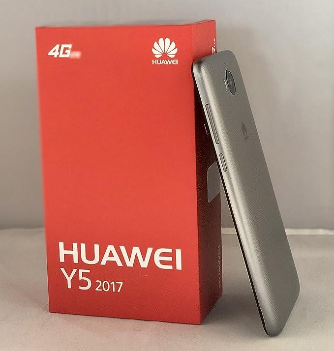 Huawei Y5 2017 MYA-L23 4G LTE Quad Core 16GB 8MP USA Latin Caribbean Bands  International Model (Gray)