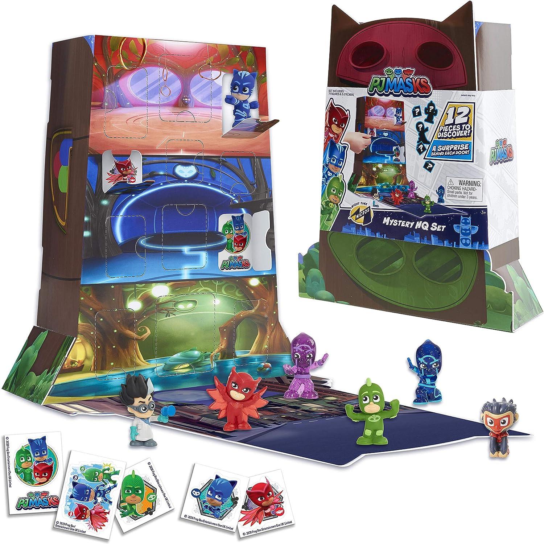 JP PJ Masks PJMC5000 PJ Mascarillas Noche Micros Misterio HQ Box Set