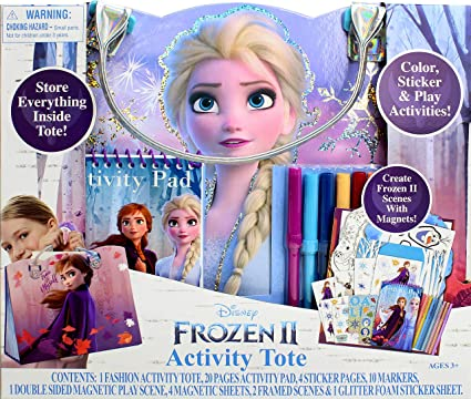 Colouring Stickers Activity Books Pads Sheets Kids Party Xmas DISNEY FROZEN