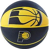 "Spalding NBA Indiana Pacers NBA Courtside Team Outdoor Rubber Basketballteam Logo, Navy, 29.5"""