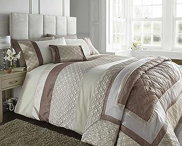 Super King Size Bed Durban Stone Duvet / Quilt Cover Set, Natural ... : beige quilt cover - Adamdwight.com