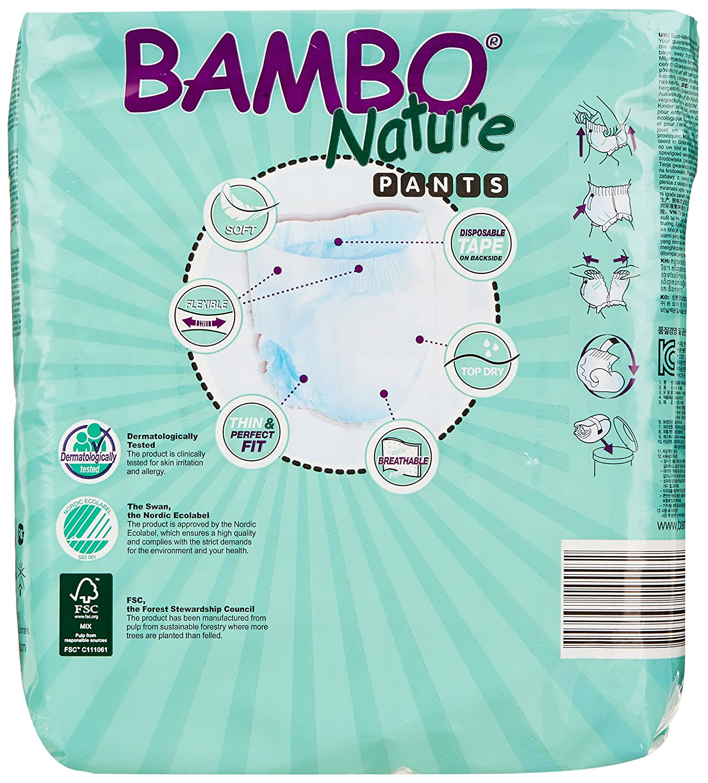 Pantalon d'entraînement de toilette Bambo Nature, X-Large, taille 6 - paquet de 18 Abena 310139-zzz-1