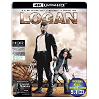 Logan & Logan Noir (Steelbook) (4K UHD + Blu-ray + Digital HD) (3-Disc)