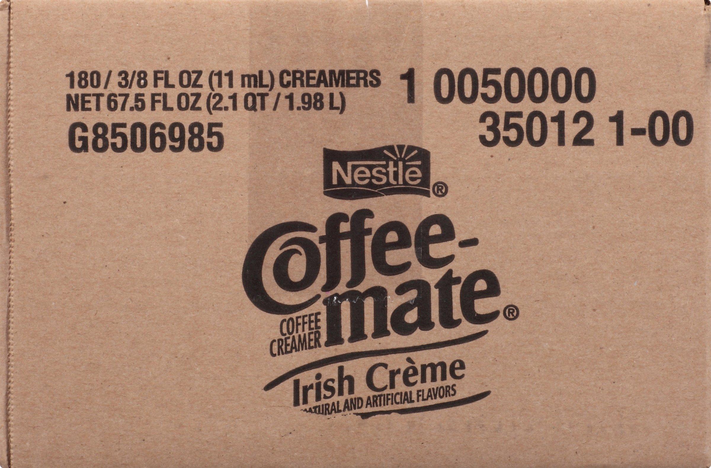 NESTLE COFFEE-MATE Coffee Creamer, Irish Creme, liquid creamer singles, 180 Count (Pack of 1) by Nestle Coffee Mate (Image #3)