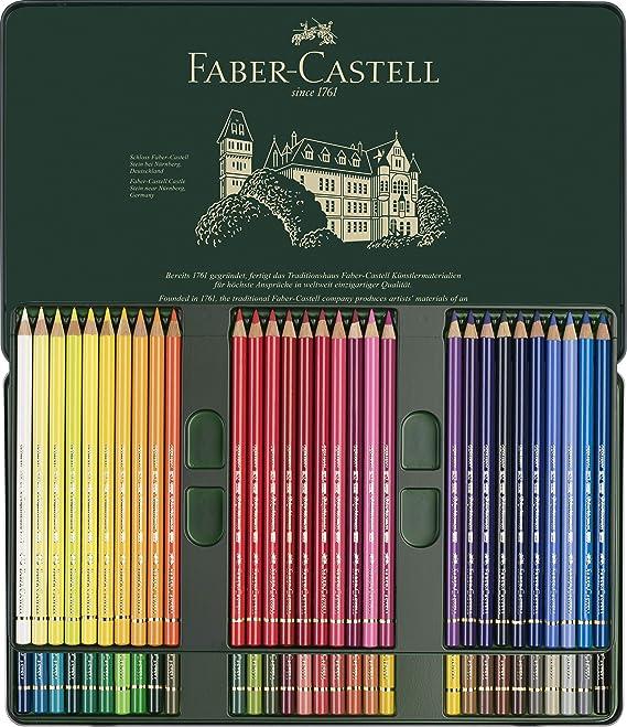 Faber-Castell 110060 - Set de lápices de colores, multicolor