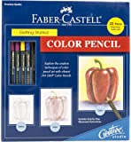 Faber-Castell Creative Studio Getting Started Art Kit: Color Pencil