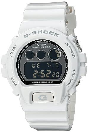 fd217e91e1de Image Unavailable. Image not available for. Color  Casio G-Shock  Mirror-Metallic White Mens Digital Watch ...