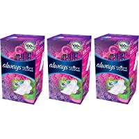26-Count 3-Pack Always Radiant Heavy Feminine Pads with Wings