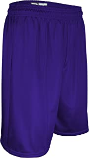 "product image for MP-6477-CB Men's 7"" Micro Mesh Performance Fitness Basketball Short (XX-Large, Purple)"
