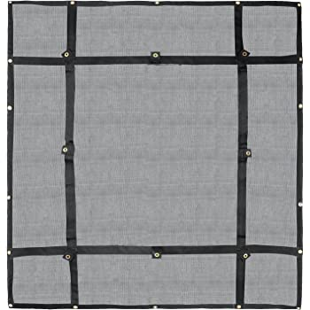 Stretches to 60 x 90 by Grizzly Gear Large 36 x 60 Cargo Net with 16 Durable Nylon Hooks