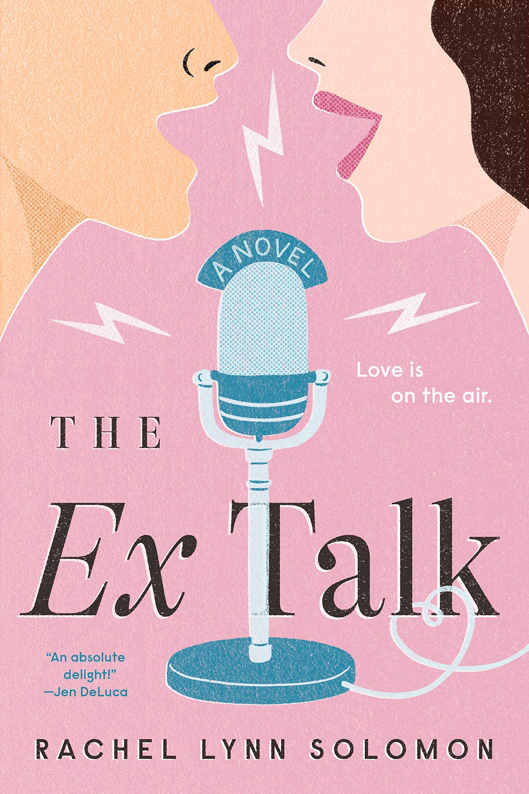 The Ex Talk: Solomon, Rachel Lynn: 9780593200124: Amazon.com: Books
