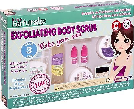 Kiss Naturals Exfoliating Body Scrub Making Kits