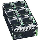 5 Gum Spearmint Rain Sugarfree Gum, 24 minipacks