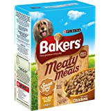 Bakers Meaty Meals for Small Dog Chicken and Vegetables, 4 x 1 kg - Pack of 4