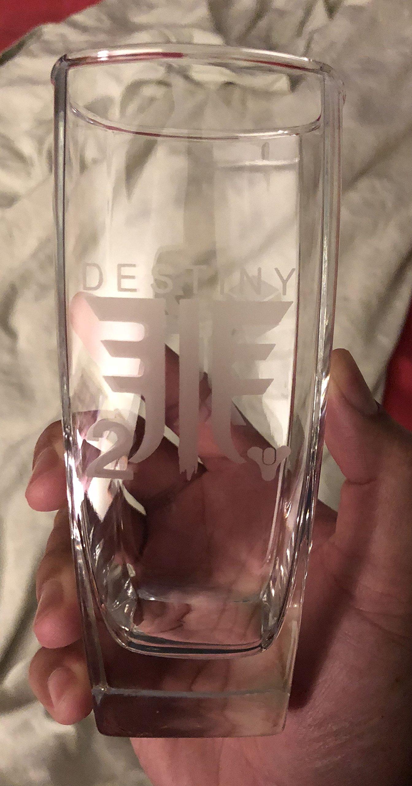 Destiny 2 Forsaken Icons Tall Drinking Glass