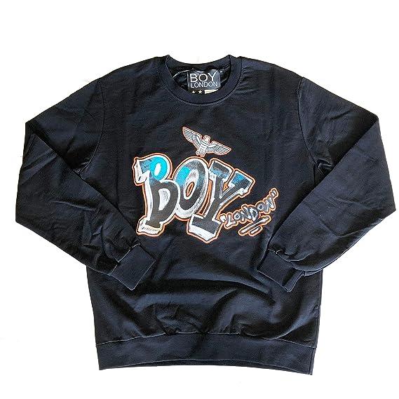 più amato 9646c 60c5e BOY London Felpa Unisex- Black: Amazon.co.uk: Clothing