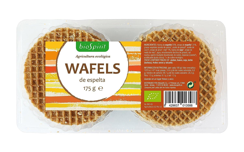 Biospirit Wafels de Espelta Bio - 175 gr: Amazon.es: Alimentación y bebidas